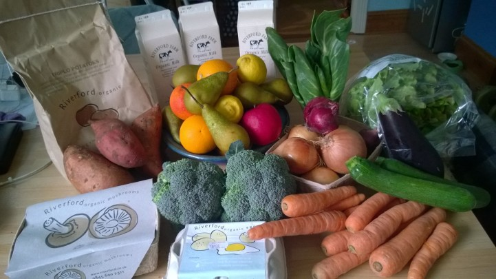 Lazy organic produce boxes Riverford