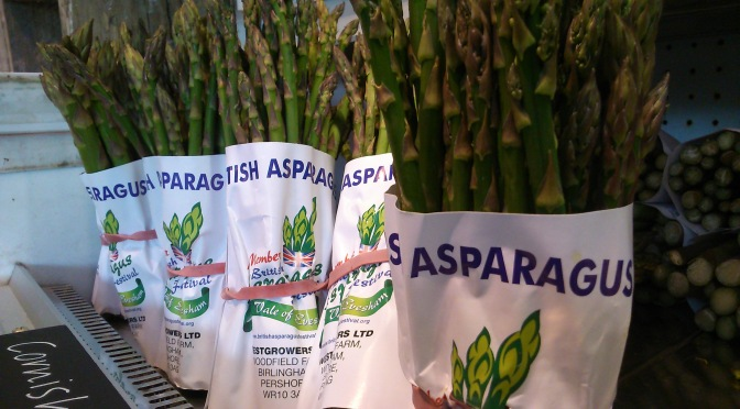 seasonal asparagus salad recipe