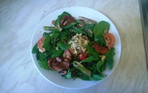 asparagus and pistachio salad recipe