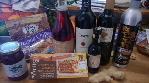 Farm food and Vegan organic biodynamic wine