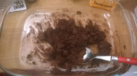 chocolate vegan paste