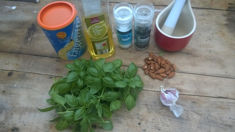 vegan pesto recipe ingredients