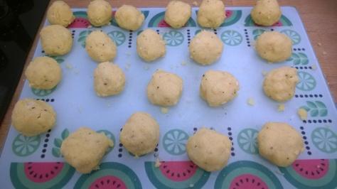 polenta balls recipe