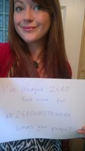 lazy girl zero waste week pledge