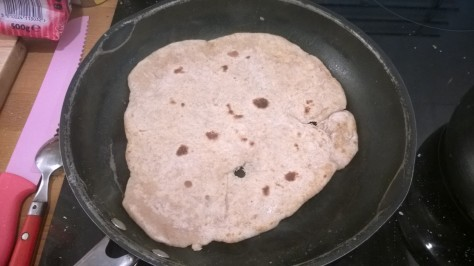 frying chapatti recipe