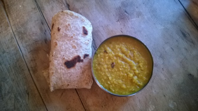 dal and chapatti recipe