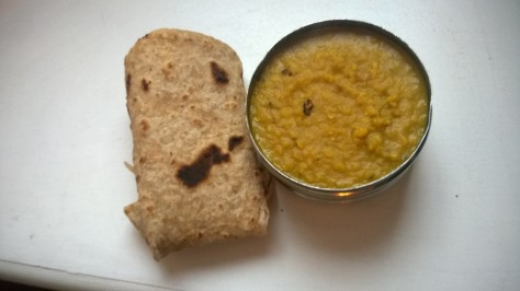 Fennel Garlic and Chilli Dal recipe