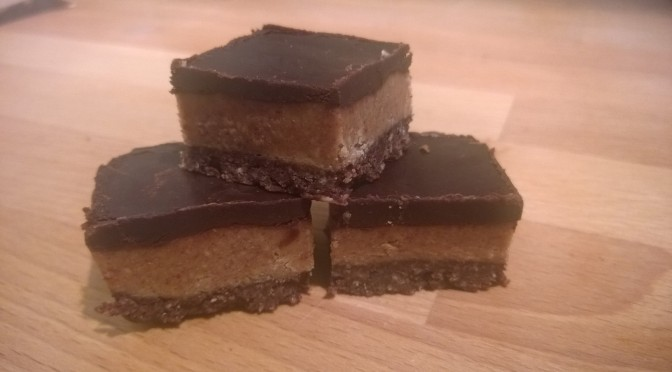 Lazy Vegan Recipe: Salty Peanut and Chocolate Bites