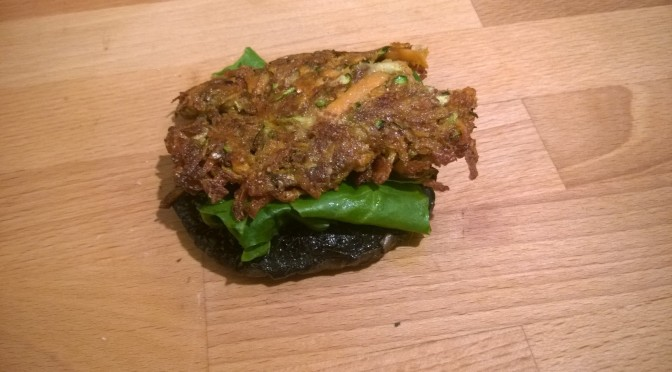 Lazy Vegan Breakfast: Sweet potato and Courgette Rosti