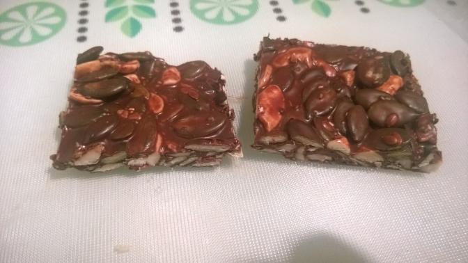 spiced orange chocolate seed thins