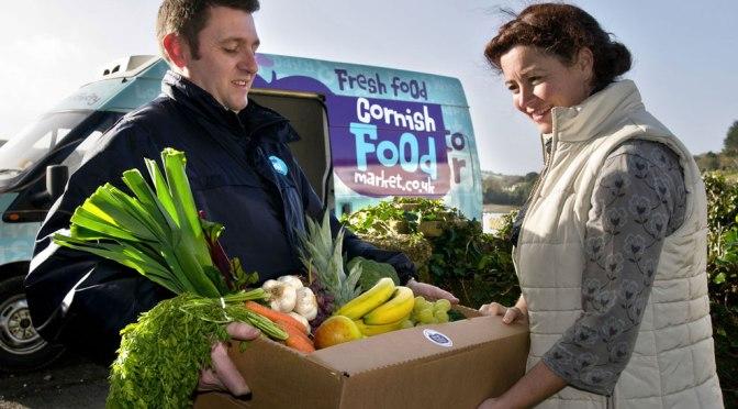 Lazy Local shopping: Cornish Food Market