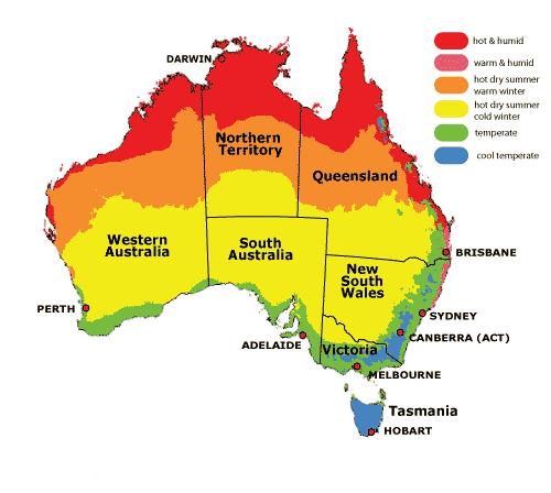 Australia seasons