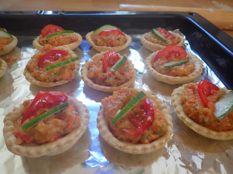 Thai Vegan tarts