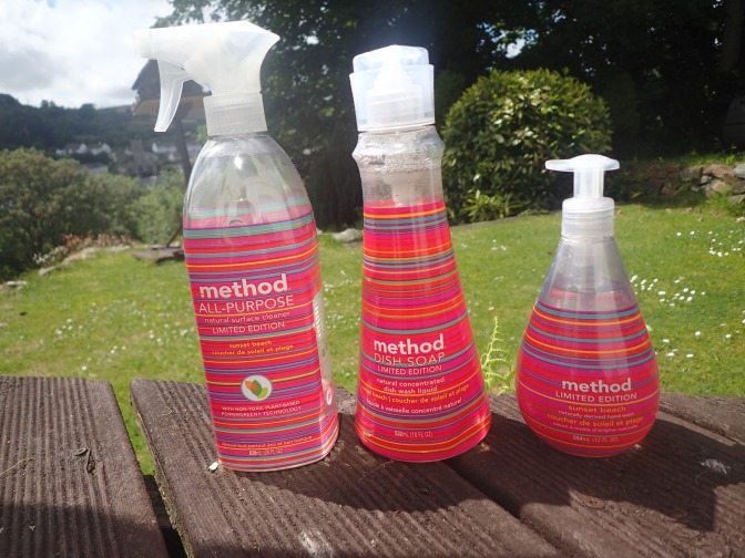 Methods Limited Edition Sunset Beach range