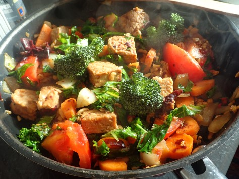 vegan superfood stirfry