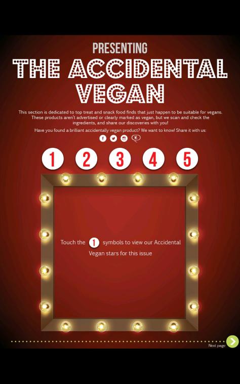 accidentally vegan veganlife sept