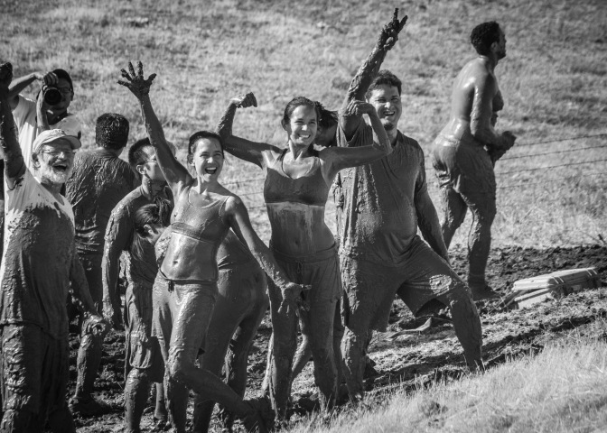 Why getting muddy is the key to gratitude