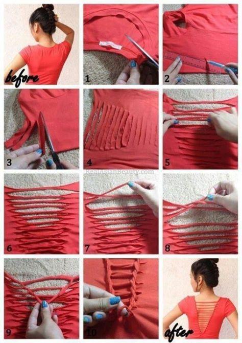 Phot: http://www.buzzfeed.com/juliegerstein/easy-no-sew-diy-clothing-hacks?sub=3335814_3150826#.xubW4VBM6