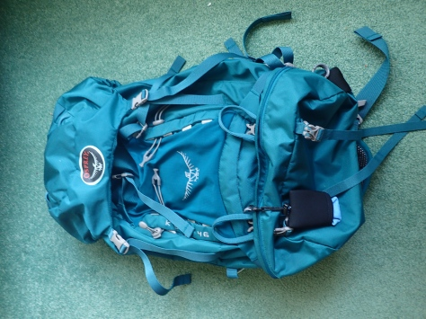 womens osprey 46L backpack