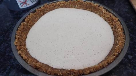 Vegan Chocolate Chai Cheesecake