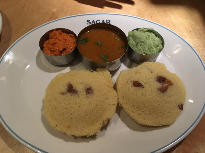 Vegan Dining in London: Sagar Covent Garden