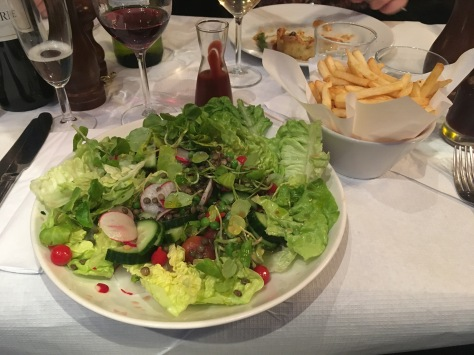 It's not the worse salad I've had...just the worse attempt at a Christmas menu!